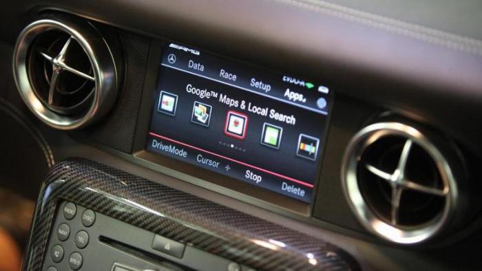Online im Auto