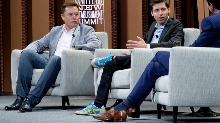 Elon Musk, Sam Altman