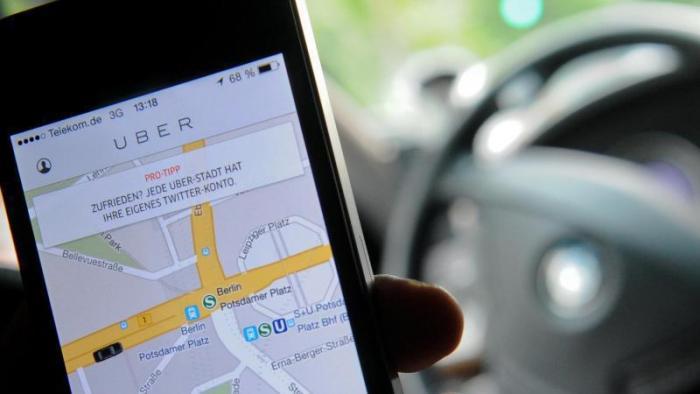 Fahrdienst Uber