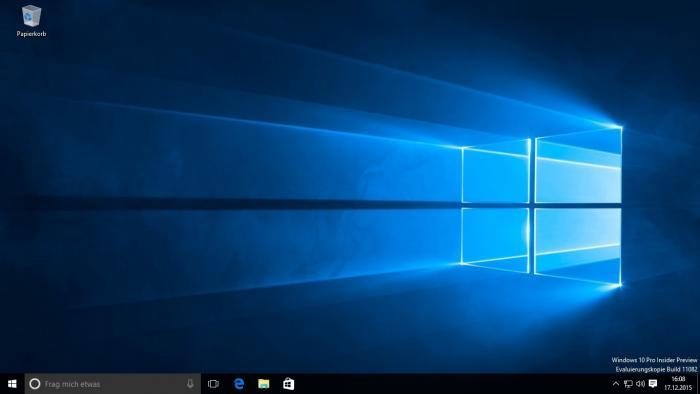 Windows 10: Insider-Vorabversion Build 11082 ist da