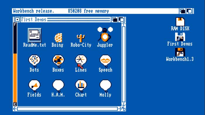 Retro Computing: Amiga-Emulator in Chrome
