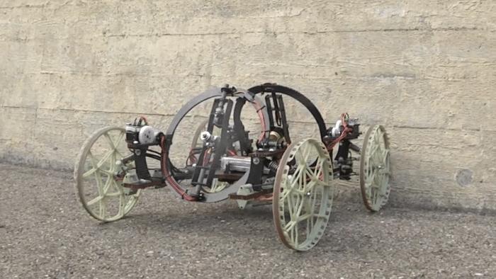 Wandkletternder Roboter