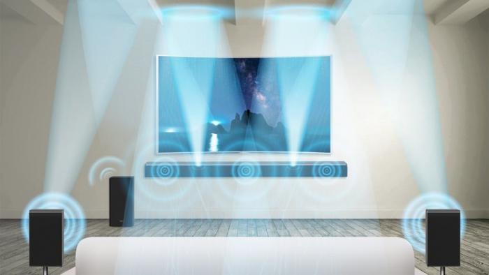 CES: Samsung zeigt Dolby-Atmos-Soundbar
