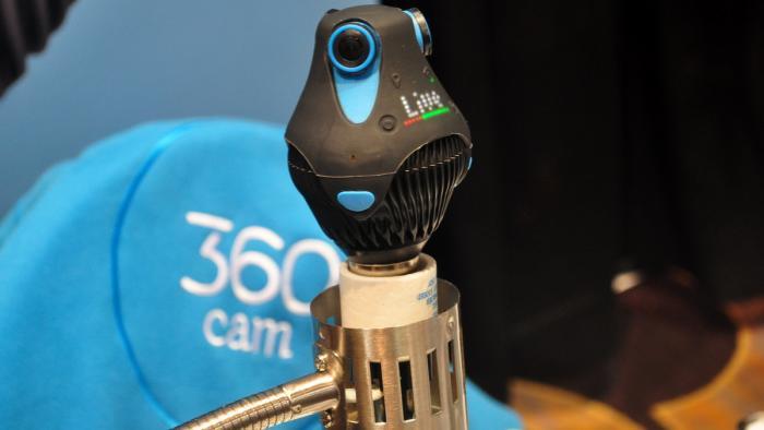 CES 2016: Giroptic 360cam, die Rundum-Kamera in der Lampenfassung