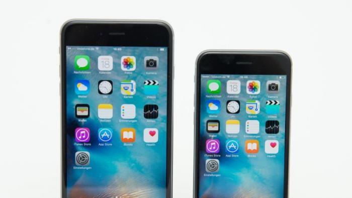 iPhone 6s Plus und 6s.