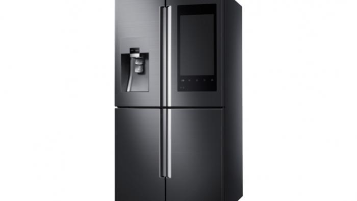 CES 2016: Samsung macht Kühlschrank zum digitalen Schwarzen Brett ...