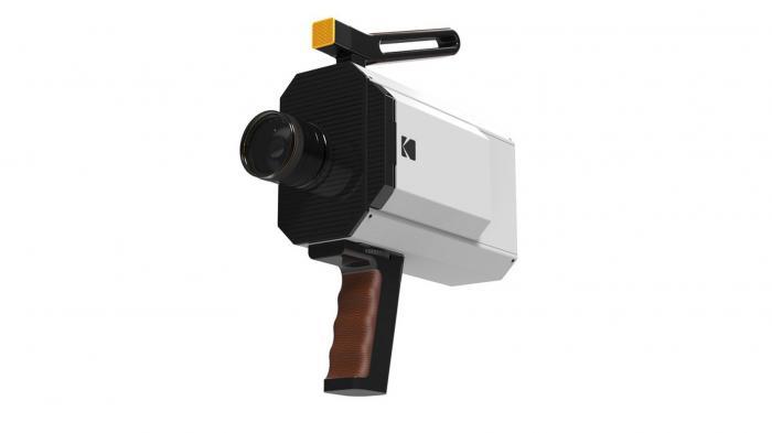 Kodaks analoge Super-8-Filmkamera