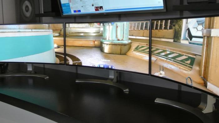 CES 2016: 2K- und 4K-Monitore in plan, gekrümmt, zum Arbeiten und zum Spielen
