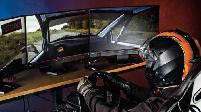 Gamen wie die Profis: Rennsitz, High-End-Monitore und Spiele-Laptops