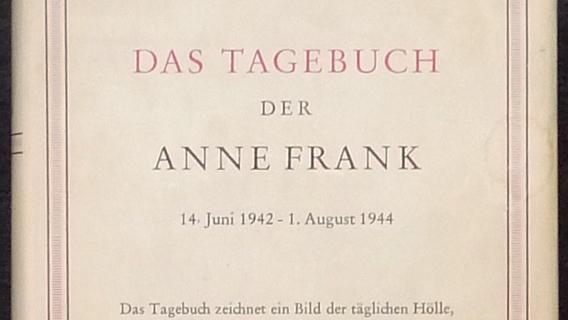 Anne Frank deutsche Erstausgabe