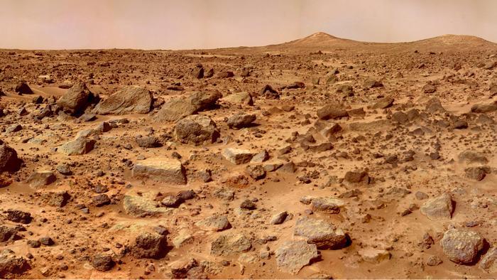 Forscher entwickeln robusten Beton mit simuliertem Marsboden