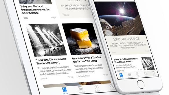 Apples Nachrichten-App News: Blindflug für Verleger
