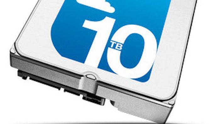Seagate: 10-TByte-Festplatte mit Helium-Füllung