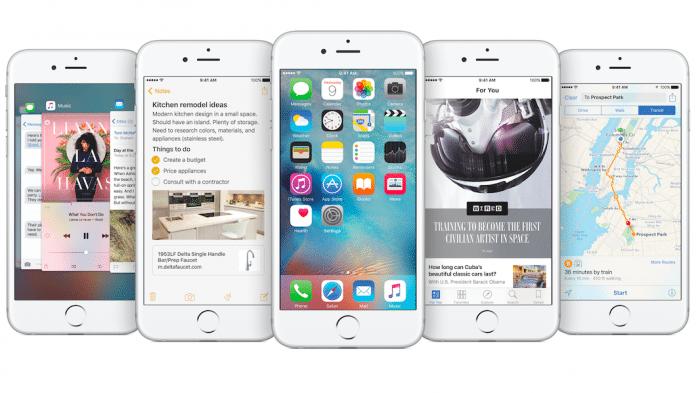 iOS 9 auf 75 Prozent der iPhones und iPads