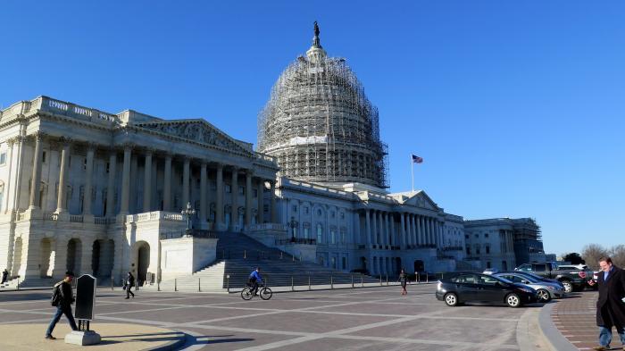 Hauptgebäude des US Congress