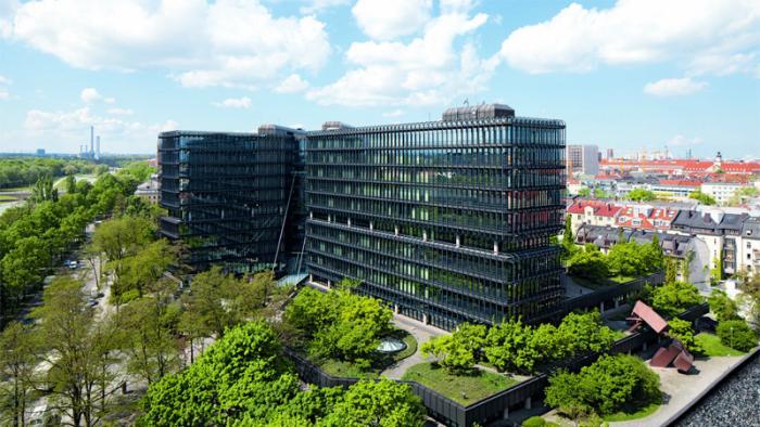 Hauptquartier des Europäischen Patentamts in München