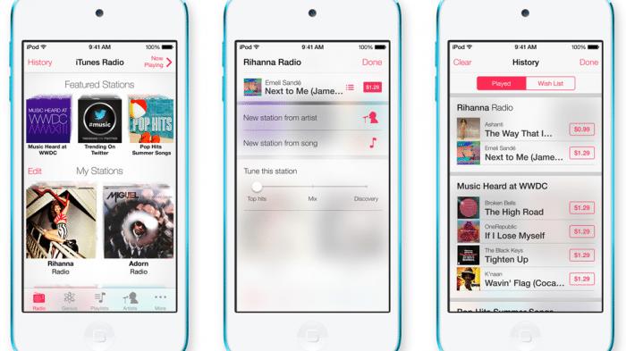 iTunes Radio nur noch gegen Geld