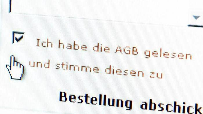 AGB-Klauseln gelesen?