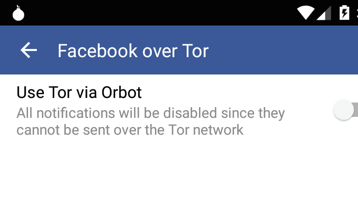 Facebook bringt Tor-Support in Android-Apps