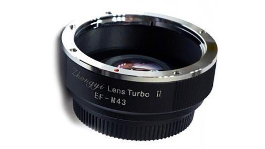 Neuer Zhongyi-Adapter für Kleinbild-Objektive an Micro Four Thirds-Kameras