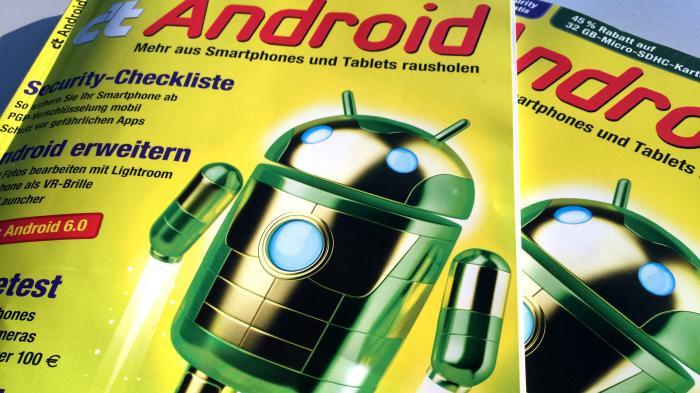 c't Android 2016 jetzt im Handel