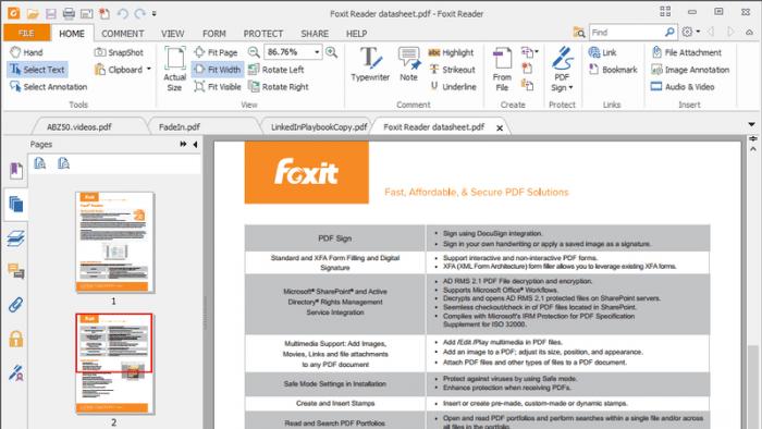 Foxit Reader für Schadcode anfällig