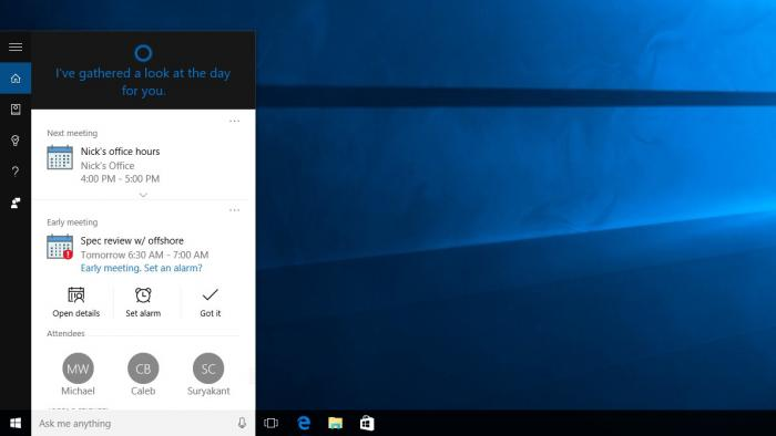 Sprachassistentin Cortana mit neuen Funktionen