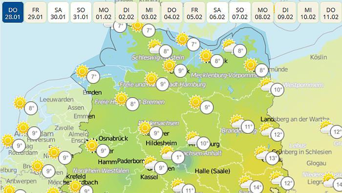 """Streit um Wetter-Apps: """"wetter.de"""" unterliegt vor dem BGH"""