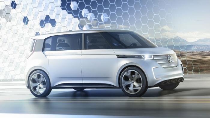 Budd-E von VW