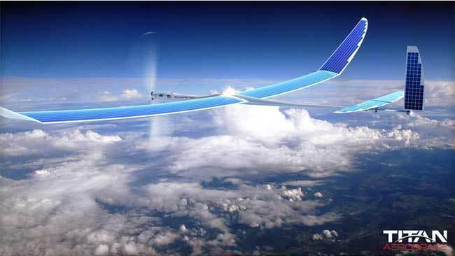 Google SkyBender soll 5G-Internet per Drohne liefern