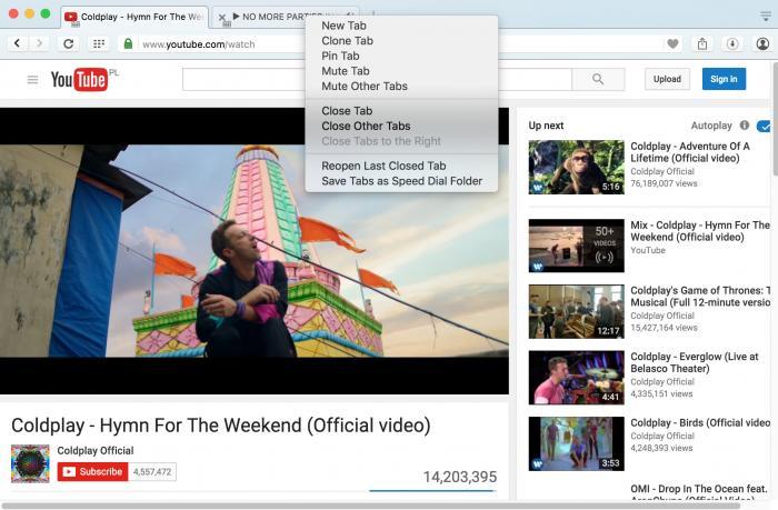 Web-Browser: Opera 35 bringt Tabs zum Schweigen