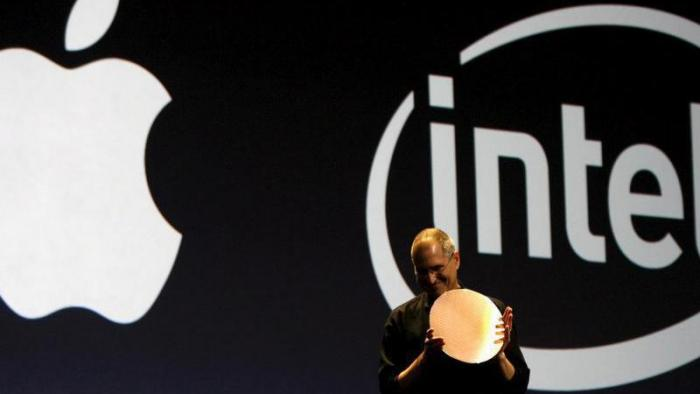Apple und Intel
