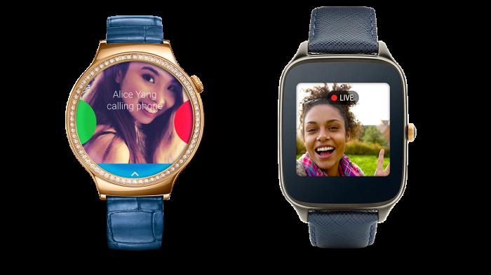 Android Wear mit neuen Gesten- und Sprachfunktionen