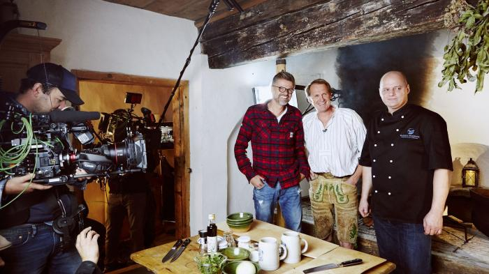 Erste deutsche Kochsendung in Ultra HD