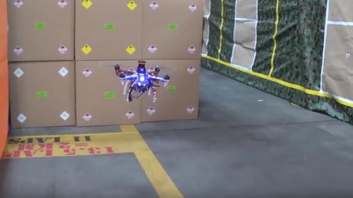 Quadcopter vom US-Militär mit wahnsinniger Geschwindigkeit