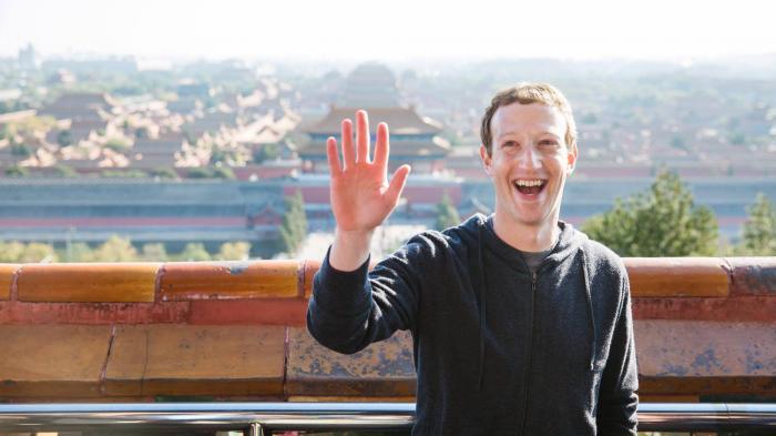 Mark Zuckerberg in China