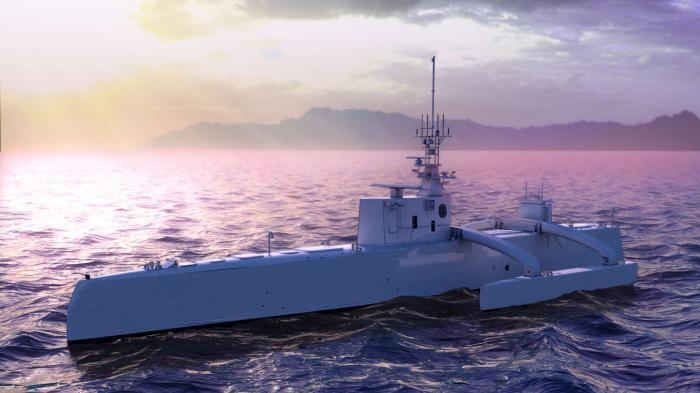 US-Marine will autonomes Patrouillen-Schiff testen