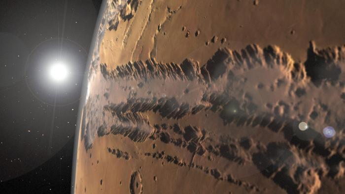 Routing-Software für den Mars