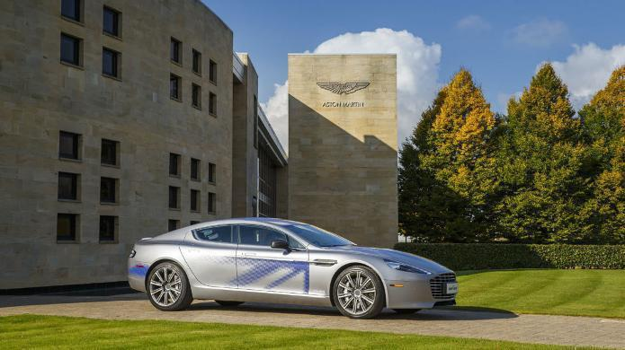 RapideE: Faraday-Future-Investor hilft Aston Martin, Elektroauto zu bauen