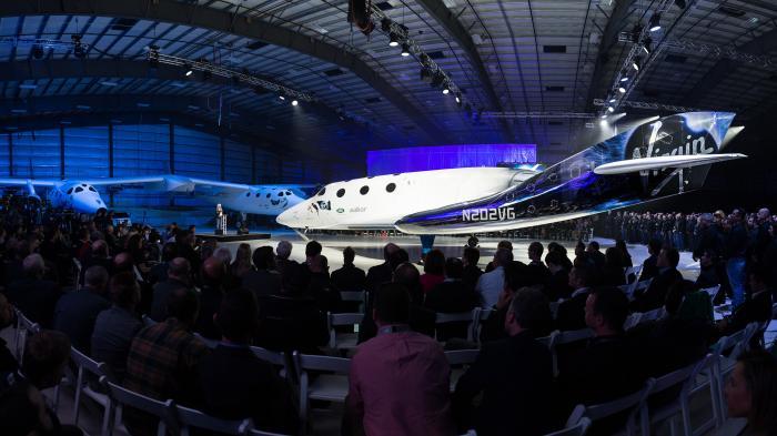 Nach der Katastrophe: Virgin Galactic stellt neues SpaceShipTwo vor
