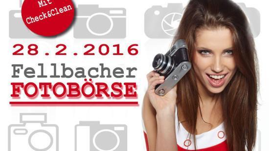 Veranstaltungstipp: Fellbacher Fotobörse am 28. Februar