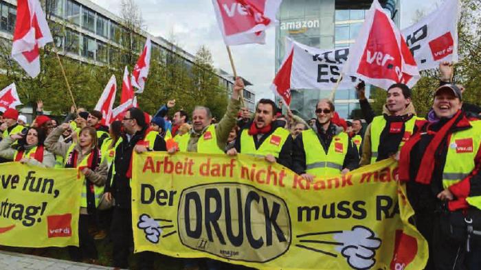Gewerkschaft erzielt Erfolg im Streit über Streik bei Amazon