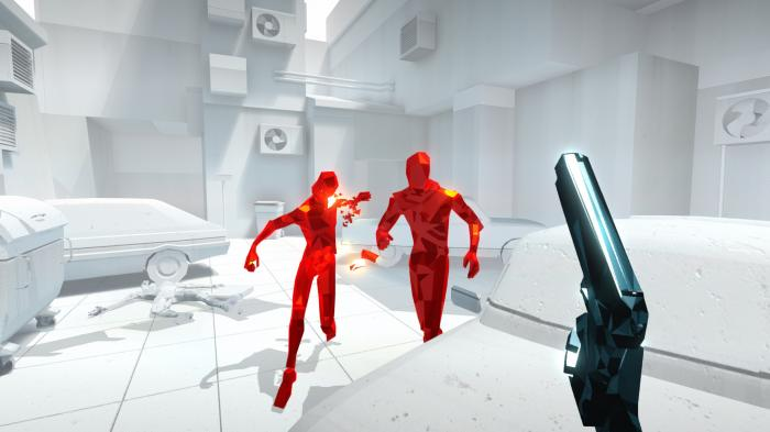 Spieletest: Ballern in Zeitlupe in Superhot