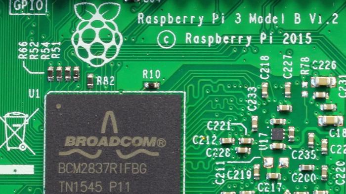 Broadcom BCM2837 auf Raspberry Pi 3 Model B