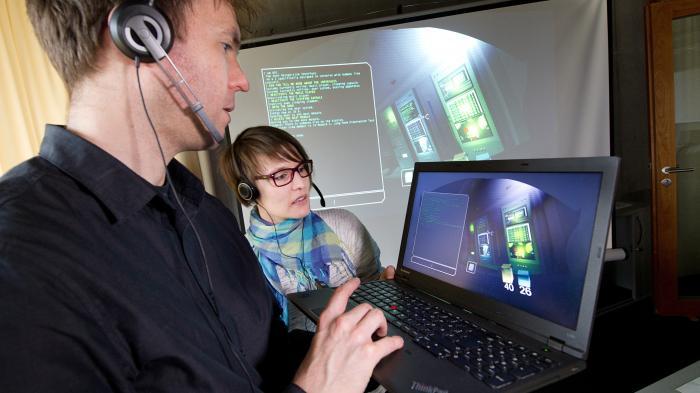 Sprachbox für Computerspieler unterschiedlicher Nationen
