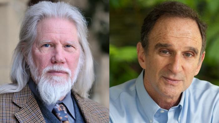 Whitfield Diffie (l.) und Martin E. Hellman