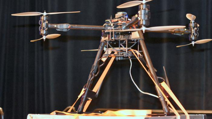 30.000-Euro-Drohne mit 45-Euro-Hardware gehackt