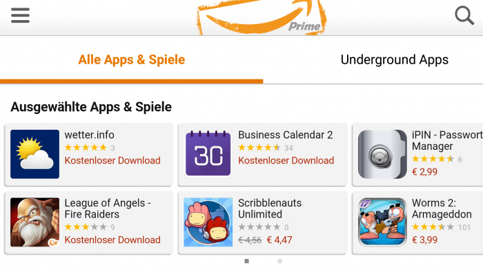 Android-Trojaner bei Amazon.de