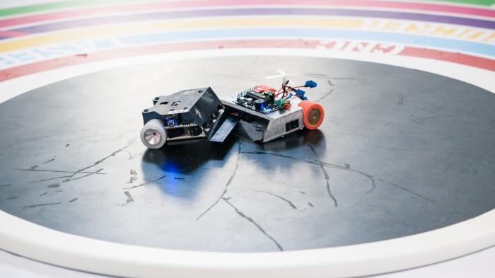 Roboter-Wettbewerb RobotChallenge in Wien