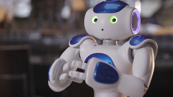 KI-Roboter: Connie Watson, der/die/das freundliche Concierge
